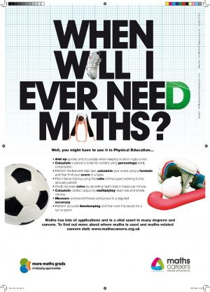maths in physical education