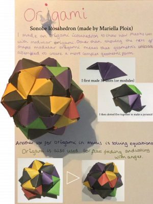 maths and origami