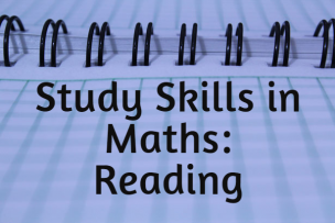 Study Skills in Mathematics – Reading