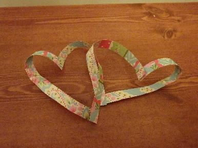 Valentine's Day Maths – Linked Möbius Hearts