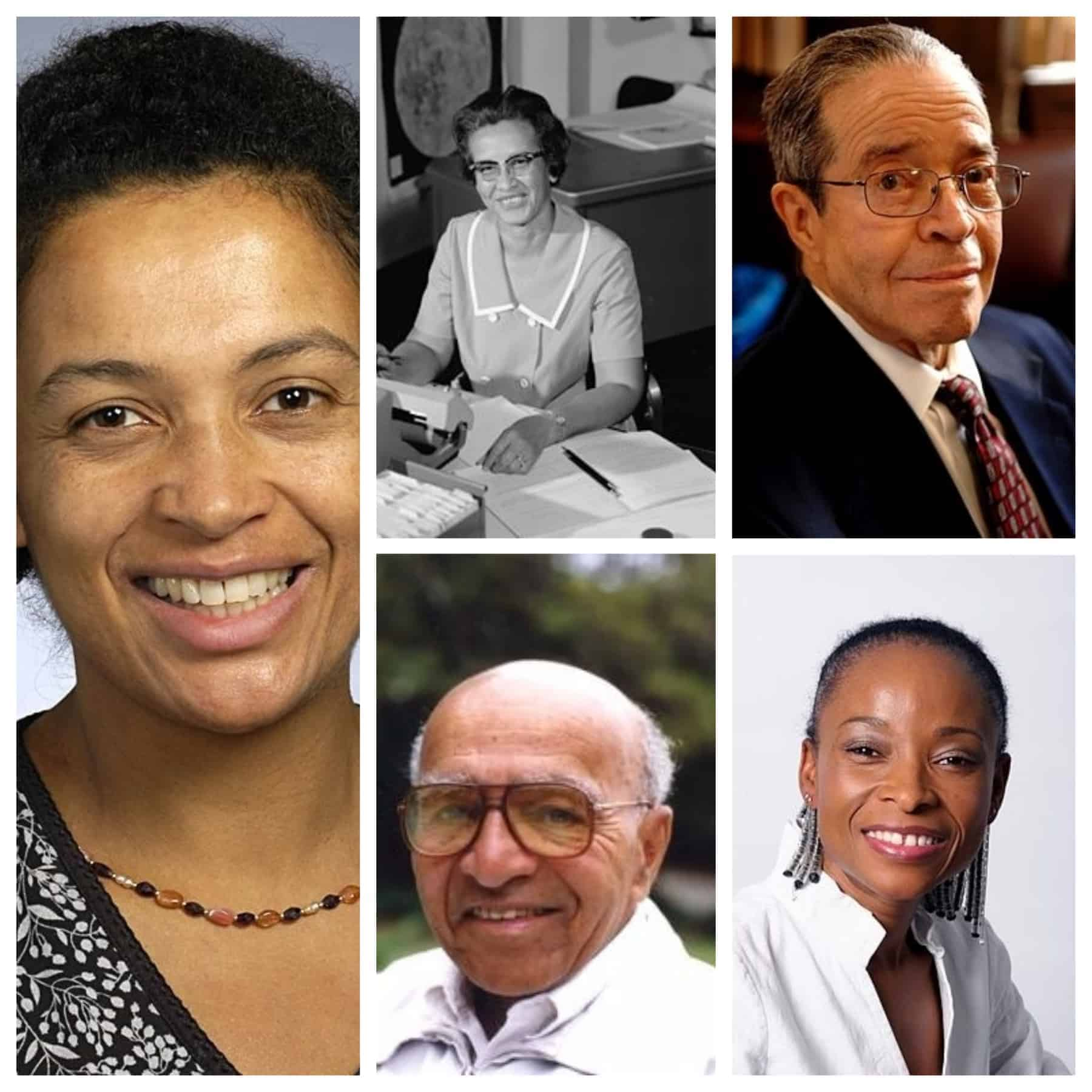 Five famous black mathematicians