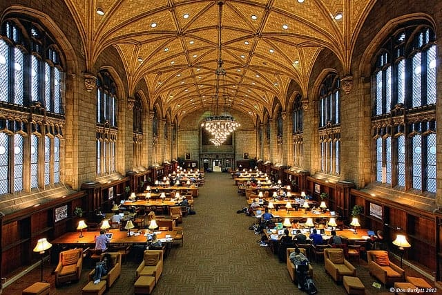 maths degree - exam hall