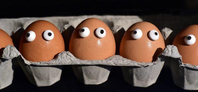 google eye eggs