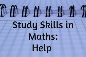 Study Skills in Mathematics – Help