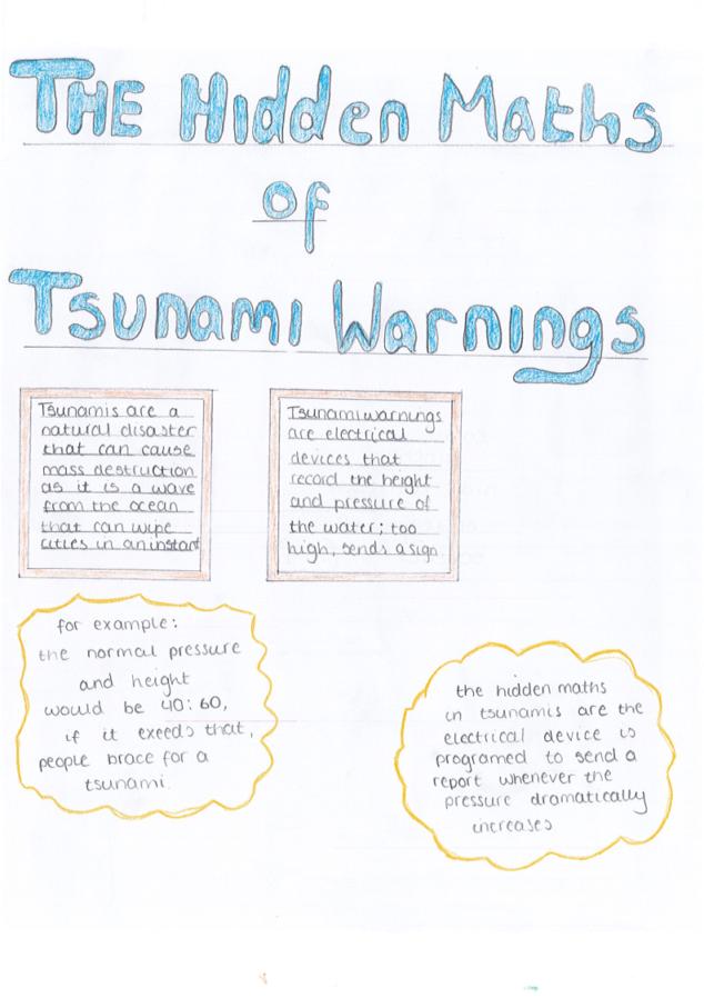 maths of tsunami warnings