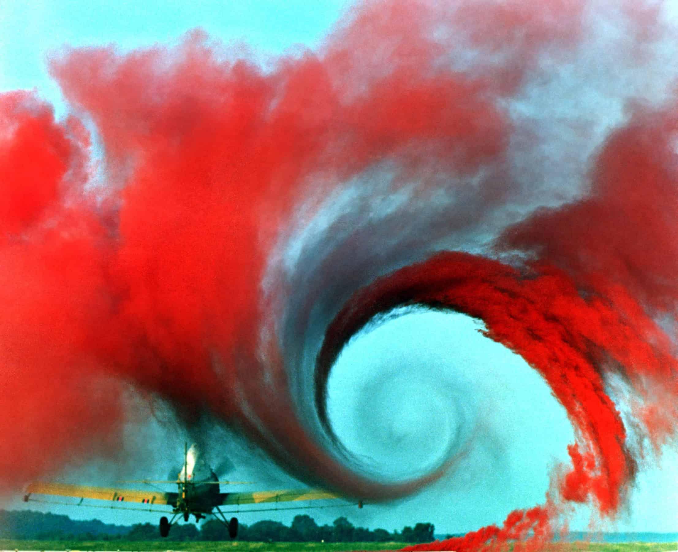 Airplane vortex